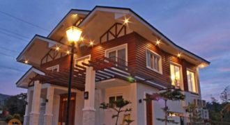 Log cabin house Tagaytay Highlands